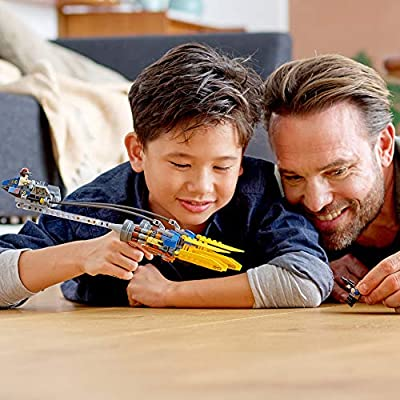 LEGO Star Wars: The Phantom Menace Anakin's Podracer – 20th Anniversary Edition 75258 Building Kit (279 Pieces): Toys & Games