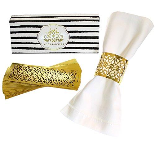 Gold Napkin Ring - 7