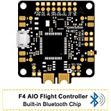 SpeedyBee F4 AIO Flight Controller STM32F405 OSD Built-in Bluetooth Chip Supported Setting FC parameters via iOS and Android