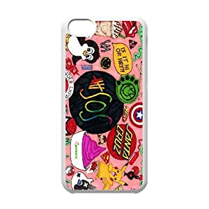New arrival 5sos band Fans Hard Plastic phone Case for iphone 5c case cover RCX078085