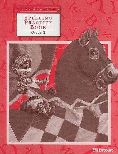 Trophies: Spelling Practice Book Grade 2