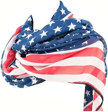 Pañuelo Bandera Americana Accesorio Carnaval (Pack 6 UDS): Amazon.es: Juguetes y juegos