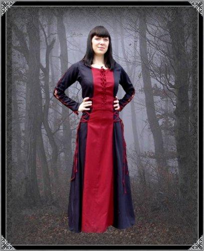 Leonardo Carbone Tageskleidung Damen Langes Gothic Kleid Valandriel ...