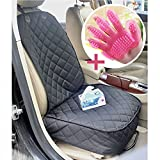 Pet Front Car Seat Covers-JK JI Kai PCR A03, Pet Seat Cover For Front Seat For Pets, Trucks, suv, F150 including Adjust Strap, 1 Anchor, 2 Elastic Bands,In 3 Layers Quilted Heavy Duty Materia