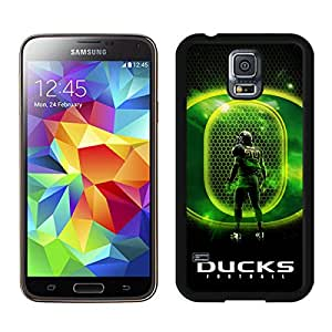 Beautiful Designed Case With NCAA Pacific 12 Conference Pac 12 Football Oregon Ducks 02(1) Black For Samsung Galaxy S5 I9600 G900a G900v G900p G900t G900w Phone Case