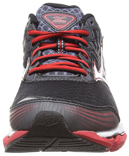 Mizuno Wave Paradox 2 - Zapatillas de running Hombre Negro (Black/White/Chinese Red)