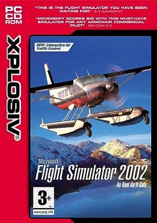 Amazon com: Microsoft Flight Simulator 2002 (Standard): Video Games