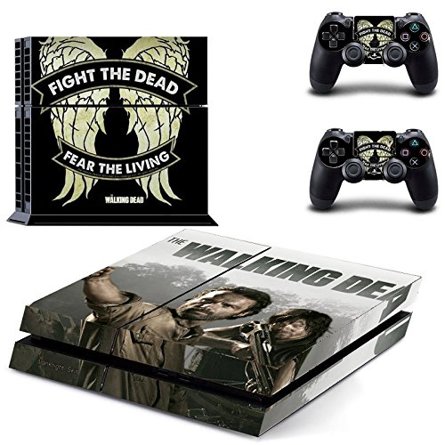 Vanknight Vinyl Decal Skin Sticker Cover The Walking Dead Daryl Dixon for PS4 Playstation Controllers