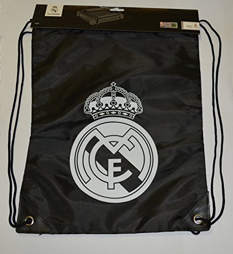 Real Madrid Fc GYM Sack BAG Drawstring Backpack Cinch Bag Authentic Official by Rhinox