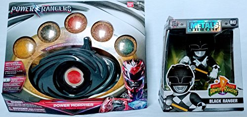 Metal Heavy Movie Costume (Power Rangers Movie Power Morpher with Power Coins and Classic Black Ranger 4
