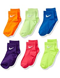 Multi- Color Toddler Girls Socks Size 5-6 US Shoe Size 9C- 13C