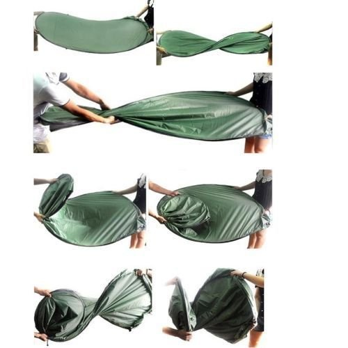 Generic YC-US2-160128-185 <8&30811> ouflageg Toilet Ch Toilet Changing Tent Portable Pop UP Camping Room Fishing & Bathing Camouflage Portable Po by Generic (Image #7)