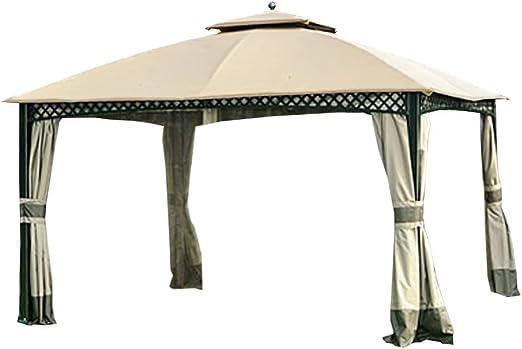 Jardín Gazebo de cúpula de Vientos de toldo y Malla de Repuesto para Windsor – RipLock 350: Amazon.es: Jardín