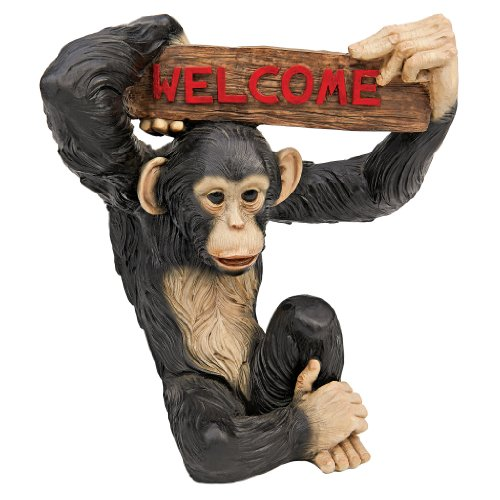 Design Toscano Monkey Business Jungle Welcome Statue ()