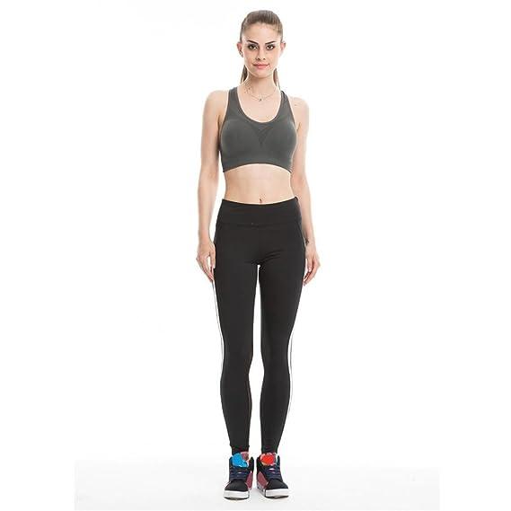 84b078241e Amazon.com  HANYI Women Girl Summer Sport Fitness Leggings Sexy Mesh  Patchwork High Waist Slim Yoga Pants  Clothing