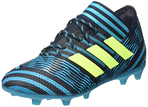 adidas Jungen NEMEZIZ 17.1 Fg J Fußballschuhe Blau (Legend Ink/Solar Yellow/Energy Blue)