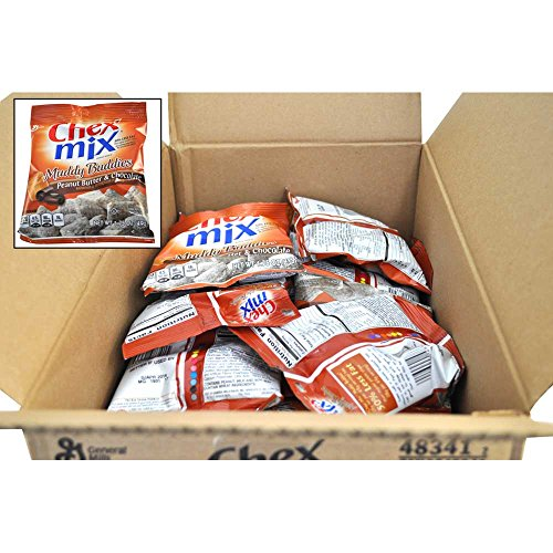 Chex Mix Peanut Butter Chocolate Muddy Buddies, 1.75 Ounce - 60 per case. by General Mills