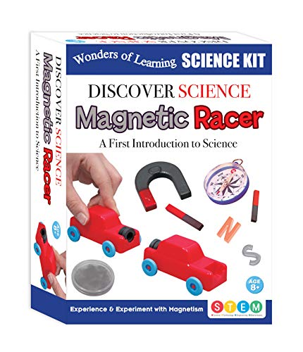 Wonders of Learning Discover Science Kit - Magnetic Racer (Wonders of Learning)