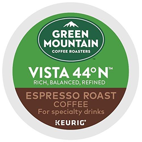 Green Mountain Coffee Roasters, Vista 44 N Espresso Roast, 48 Count