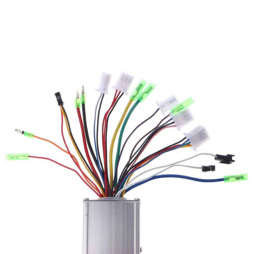 Moteur /électrique pour v/élo Contr/ôleur Intelligent sans balais R/égulateur de Vitesse Zuanty-Planting DC 24//36 V 250 W6