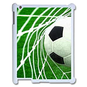 wugdiy Personalized Durable Case Cover for iPad2,3,4 with Brand New Design Soccer Ball
