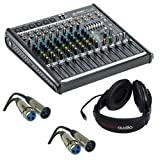 Mackie ProFX12v2 12-Channel Sound Reinforcement Mixer with Stereo Headphones & Two XLR- XLR Cable