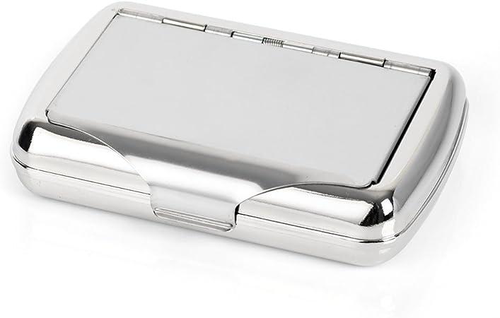 Papel para liar cigarrillos caja de cigarrillos Tabaco funda de metal con soporte: Amazon.es: Hogar