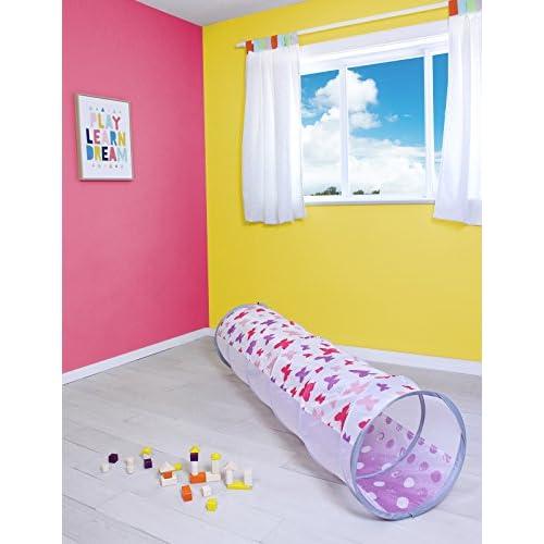 Sugar Q Kids 6 pieds pop up tunnels de jeu tunnel pour les tout-petits