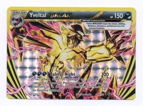 Pokemon Steam Siege Yveltal BREAK 66//114  Rare BREAK Card