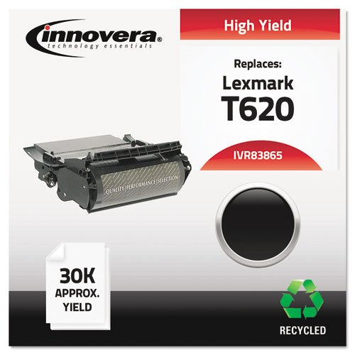 Innovera 83865 Remanufactured 12A6765 (T620) High-Yield Toner Black