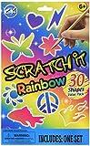 Glitter Scratch Art (black)