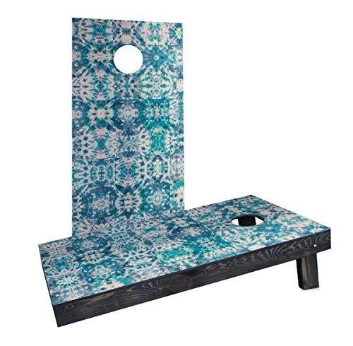 Custom Cornhole Boards Incorporated CCB365-C-RH Green Tie-Dye Cornhole Boards [並行輸入品] B07HLQGQLD