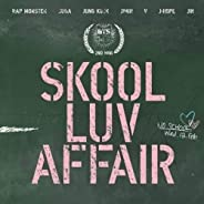 BTS 2nd Mini Album [SKOOL LUV AFFAIR] CD,115p Booklet, Photocard (on Pack) with Extra Photocards Set K-POP Sea