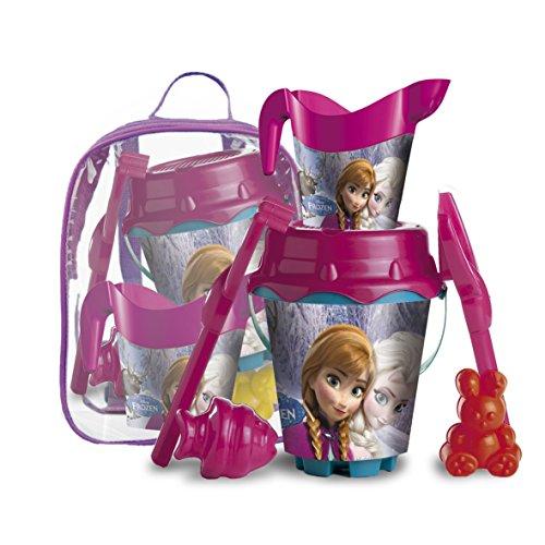 Frozen-Mochila-cubo-castillo-juguete-para-playa-Mondo-Toys-28261