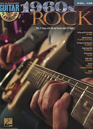 1960s Rock: Guitar Play-Along Volume 128