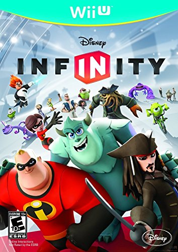 Wii U Disney Infinity – Game Only [Nintendo Wii]