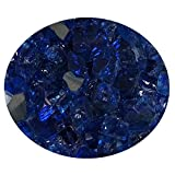Global Outdoors 10-Pound Reflective Sapphire 1/2'' Fire Glass