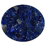 Cheap Global Outdoors 10-Pound Reflective Sapphire 1/2 Fire Glass