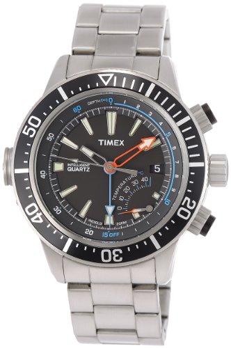 (Timex Adventure Men's | Depth Gauge 200m Water Resistant | Quartz Watch T2N809)