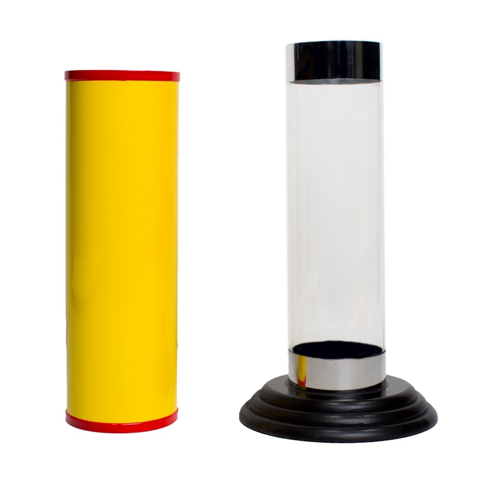 Magic Makers Crystal Silk Cylinder Illusion - Includes 3 Large Silks by Magic Makers (Image #2)