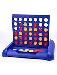 Classic Connect 4 Board Game, Travel Foldable Line Up 4 In A Row Game For Kids Children Games , Fun Popular Educational Giant Four Five in a Row Family Desktop Puzzle Games (Small Size) BOBEBE Online Baby Store From New York to Miami and Los Angeles