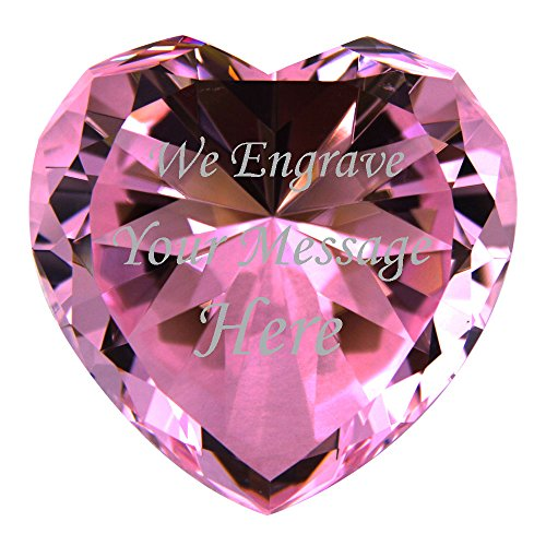 Personalized Custom Engraved Crystal Diamonds -