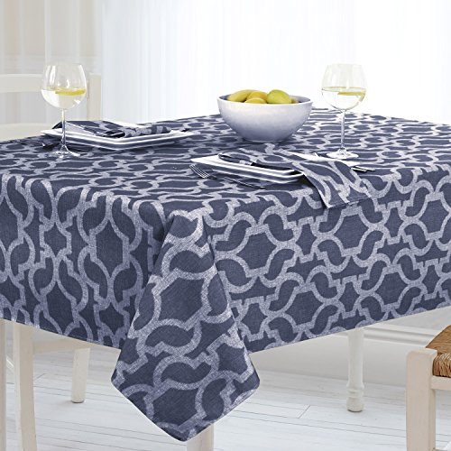 Cheap  Casual Living by Newbridge Sydney Indoor Outdoor Polyester Table Linens, 60-Inch by..