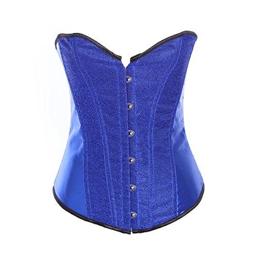 Valin FOB5206 Mujer Azul Lencería y ropa interior Corsés y bustiers,L