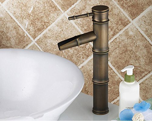 GOFO Antik Kupfer kalt- und Höhe Einlochmontage Thermostat Wassh Waschbecken Wasserhahn