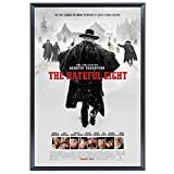 "SnapeZo Movie Poster Frame 27x40 Inches, Black 1.25"" Aluminum Profile, Front-Loading Snap Frame, Wall Mounting, Professional Series for One Sheet Movie Posters"