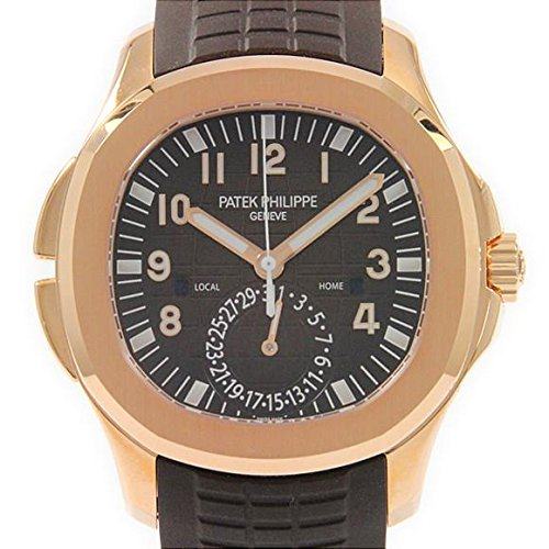 aut Travel Time Rose Gold Chocolate Watch 5164R-001 (Patek Philippe Rose Gold)
