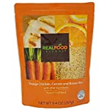 Real Food Blends Orange Chicken, Carrots & Brown