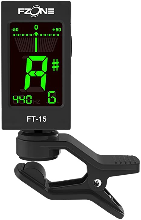 Andoer® Fzone FT-15 Clip-on Afinador Eléctrico Portátil para ...