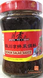 Spicy King Sichuan Salad Sauce 9.17 oz by D&J Asian Market